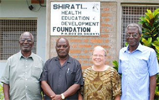 SHED Foundation Directors (L to R) Josiah Kawira, Rev. Manaen, Dr. Esther Kawira and Capt. Josiah Magatti